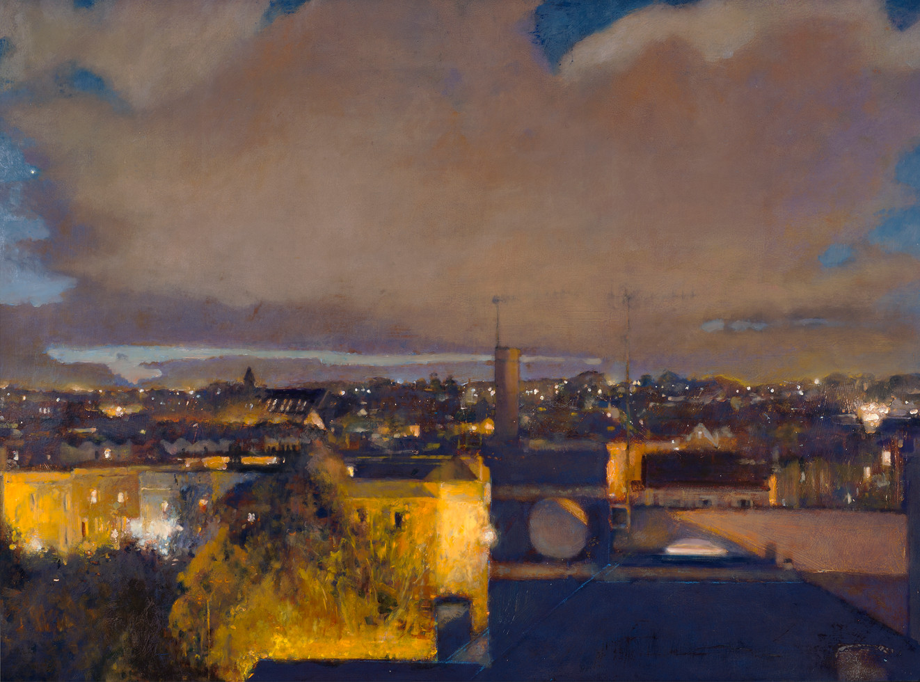 'Evening Light, Redland'