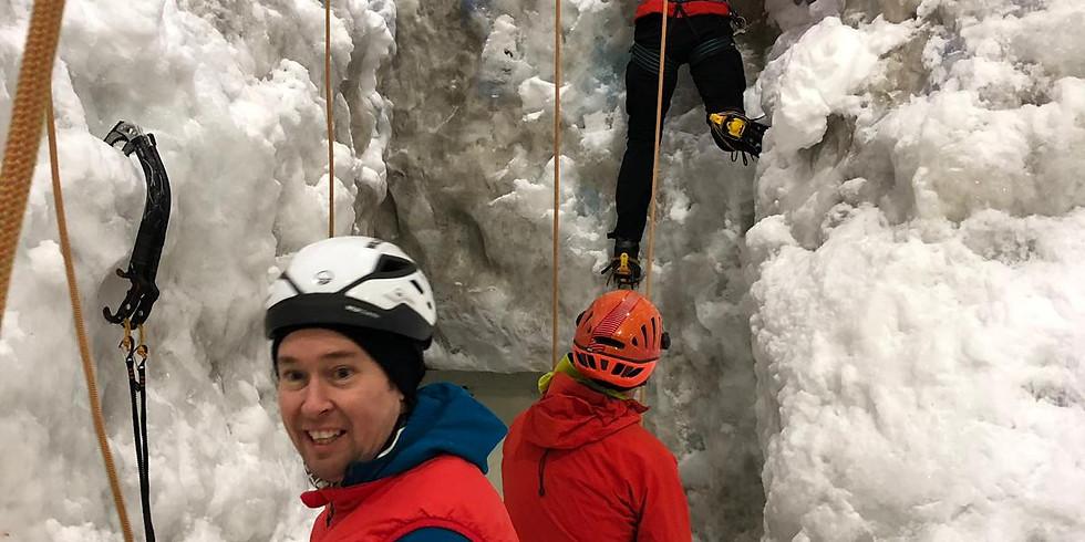 Indoor Ice Climbing - Glasgow - TBC