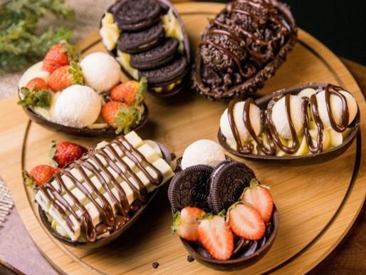 Páscoa: receitas diferentes com chocolate