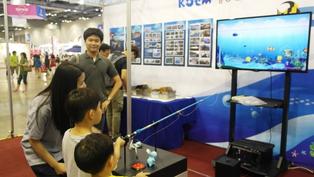 해양환경공단 - 바다물고기 잡기