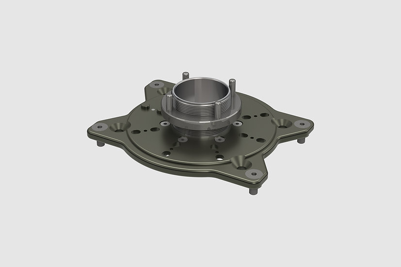 AL-2570 — Mitchell mount for GF-Slider (without pan bearing)