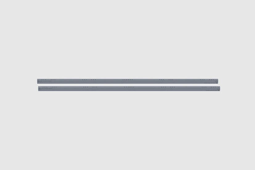 "AL-2568/1 — Pair of GF-Slider precision rails, 250 cm / 8'2"" (2 pcs.)"