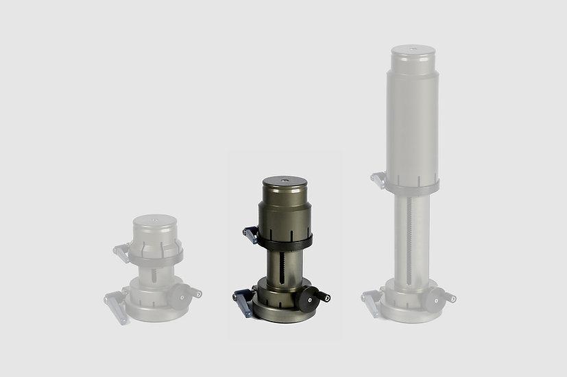 """AL-2317 — Mini Cranked Riser, medium (14 - 22cm / 6"""" - 9"""")"""