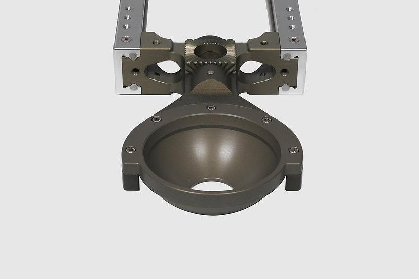 AL-2414 — GF-Slider Nose Mount (150mm bowl)