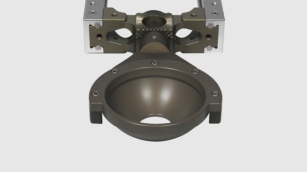 AL-2414 — GF-Slider Nose Mount (150 mm Bowl)