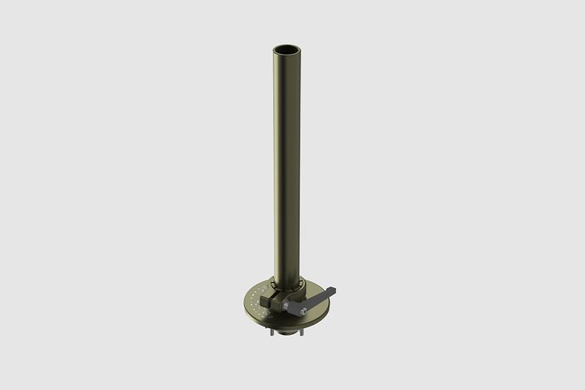 AL-2440 — Scaffold tube (48.3mm) on Mitchell plate