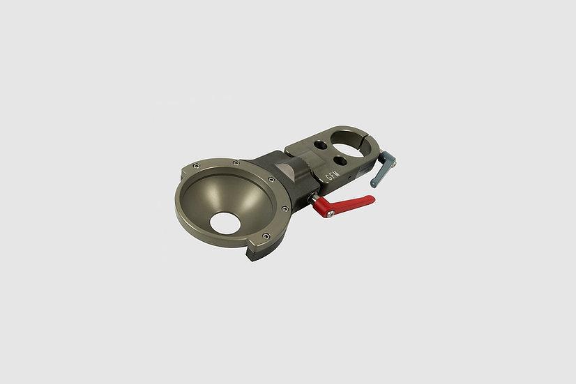 "AL-2379 — Swivel section Euro to 150mm bowl, short (29cm / 11"")"