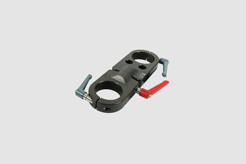 "AL-2377 — Swivel section Euro to Euro, short (23cm / 9"")"