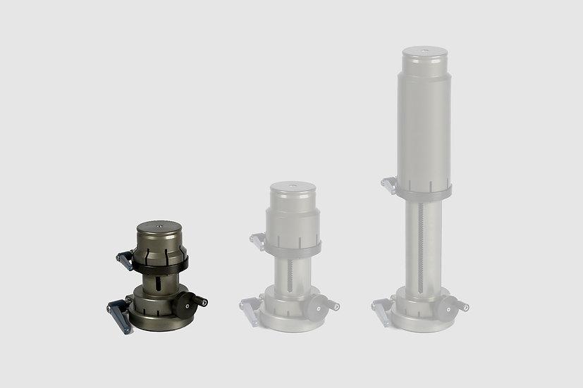 """AL-2312 — Mini Cranked Riser, small (10 - 14cm / 4"""" - 6"""")"""