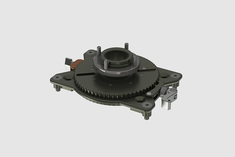 AL-2571 — Mitchell mount for GF-Slider (with pan bearing)