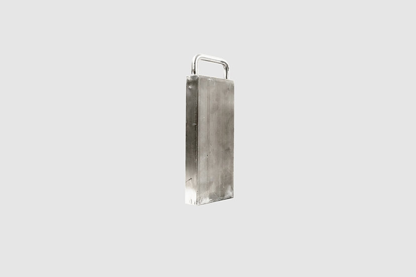 AL-1004 — Stainless steel weight shell (empty)