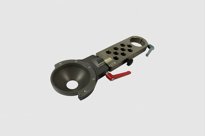 "AL-2378 — Swivel section Euro to 150mm bowl, long (41cm / 16"")"