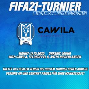 Fifa21 Turnier bei Cawila in Niederlangen