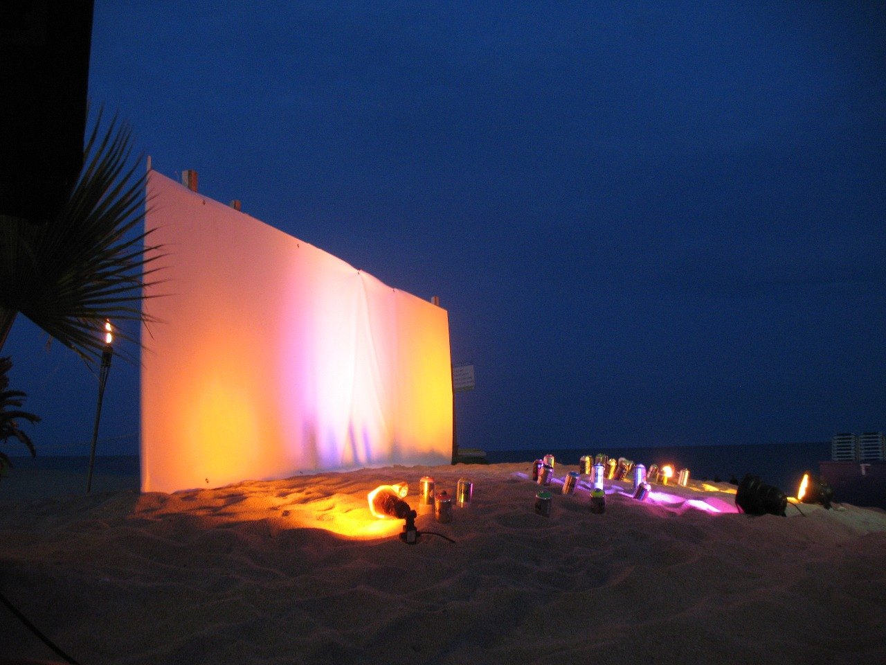 Zona 6 beach bar Calella