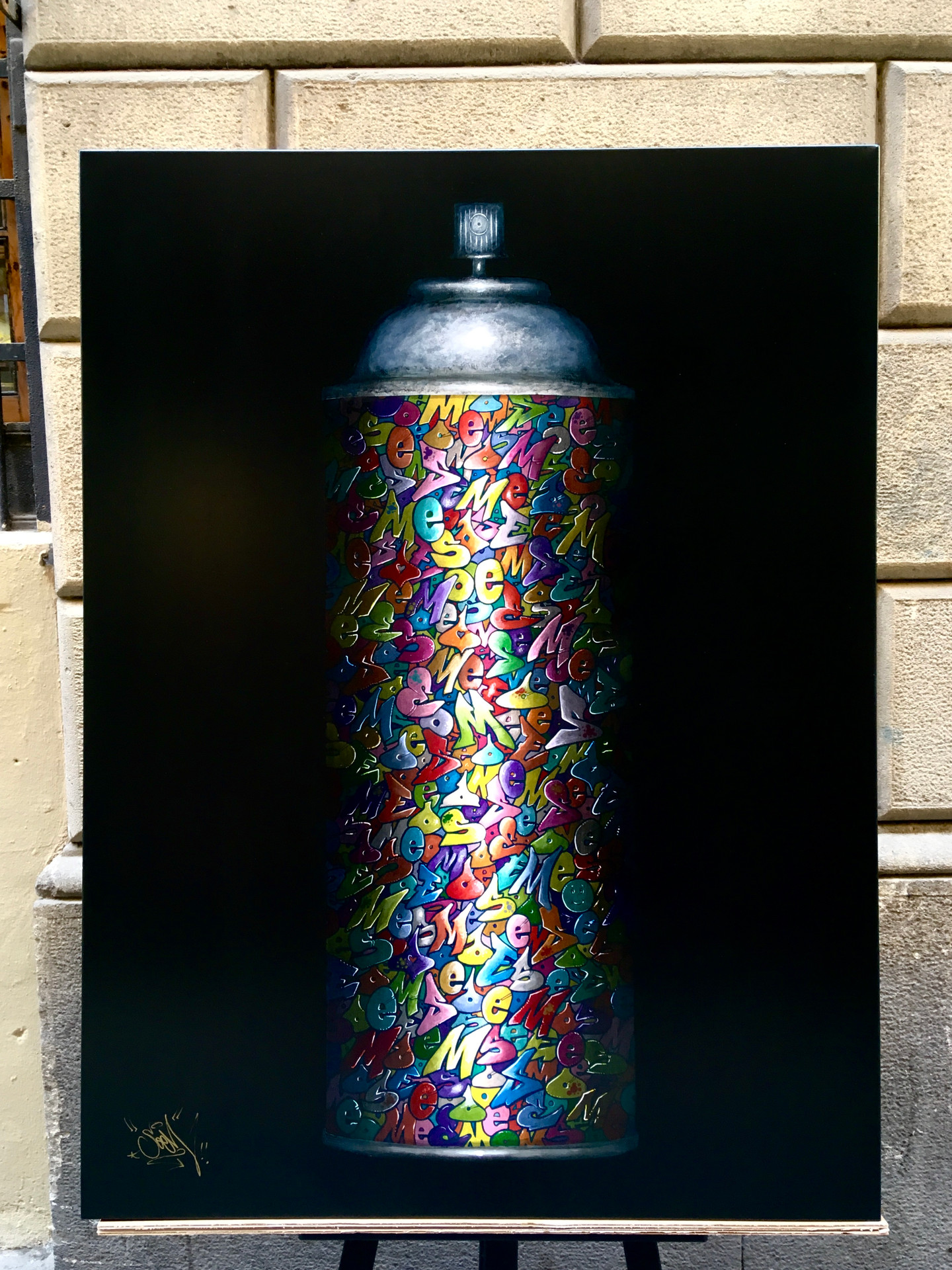 Spray can ( sold )