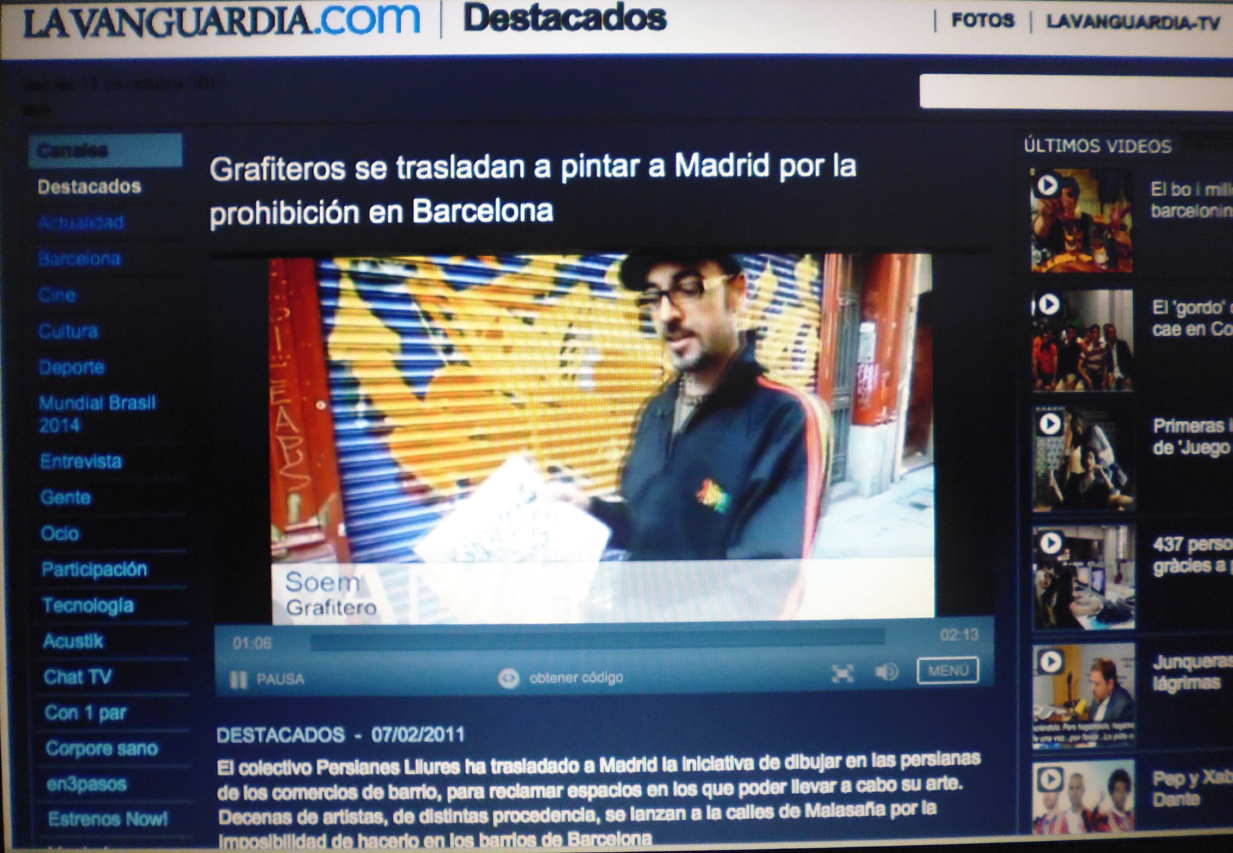 la vanguardia tv