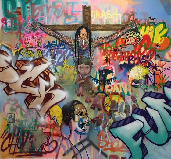 3 styles Soem, Art is Trash & Ivana Flores