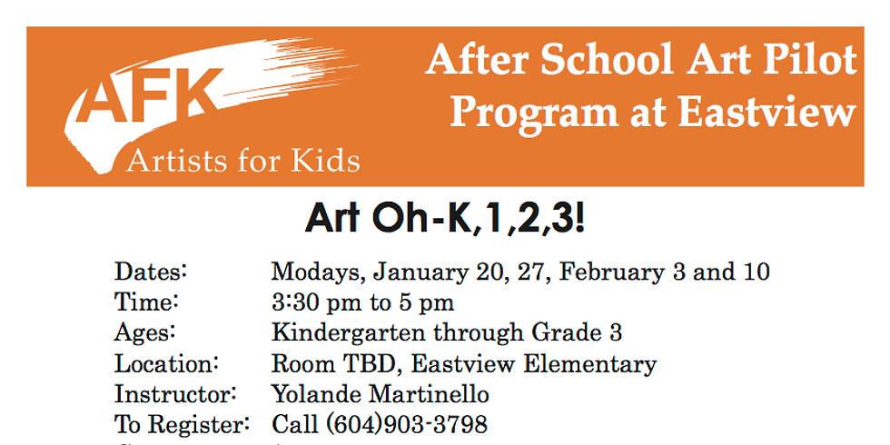 Eastview Elementary is offering after school art classes!