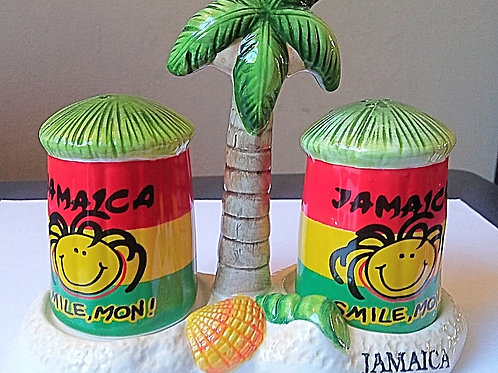Jamaica Salt & Pepper Shaker