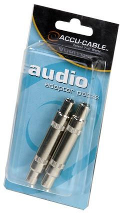 """American DJ FEMALE 1/4"""" TO FEMALE 1/4"""" ADAACQFQF Audio cable"""