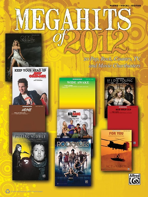Alfred MEGAHITS OF 2012 (PVG)