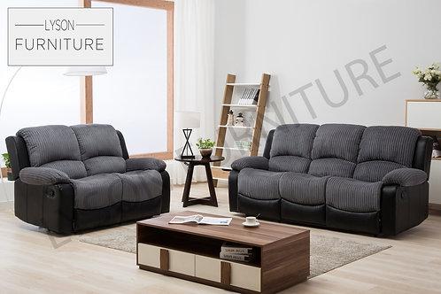 MOIRA Recliner 3+2 Sofa Set - Fabric
