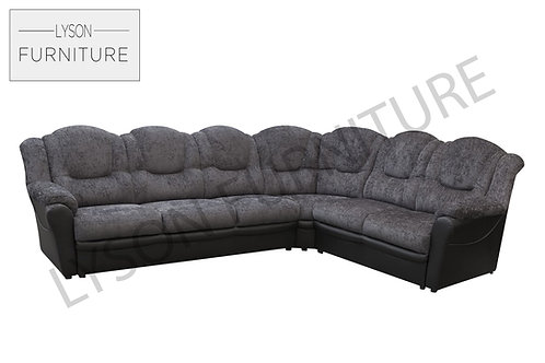 TOMAS Corner Sofa - Full Back - Fabric