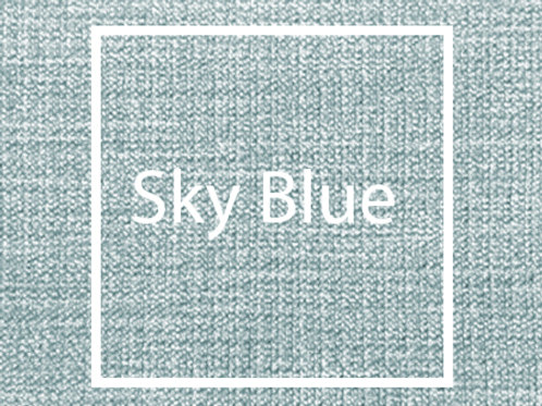 Sky Blue Graceland Fabric Sample