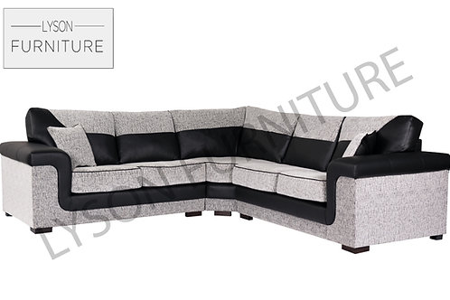 SOPHIA NEW Corner Sofa I Sofa Set - Full Back - Fabric