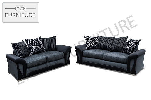 SHIRLEY 3+2 Sofa Set - Scatter Cushion - Fabric