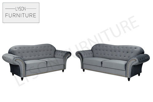 BRITTANY 3+2 Sofa Set - Full Back - Fabric