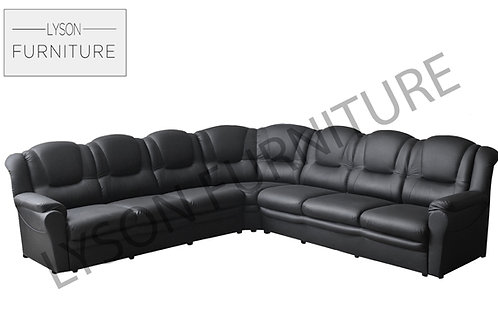 TOMAS Corner Sofa - Full Back - Faux Leather