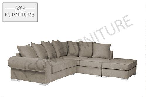RONALD Corner Sofa - Scatter Cushion - Fabric