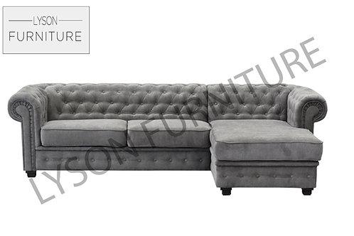 JULIETTE Corner Sofa - Full Back - Fabric