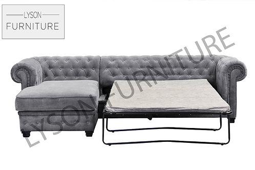 JULIETTE Corner Sofa Bed - Full Back - Fabric