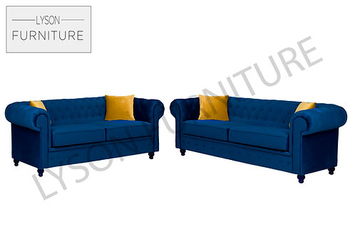 HAROLD 3+2 Sofa Set - Full Back - Fabric