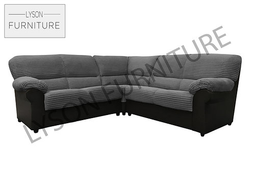 CRYSTAL Corner Sofa - Full Back - Fabric