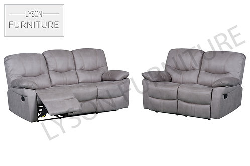 AMANDA Recliner 3+2 Sofa Set - Fabric