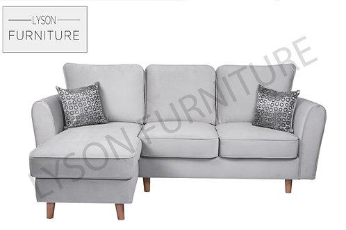 GEMMA Corner Sofa I Sofa Set - Full Back - Fabric