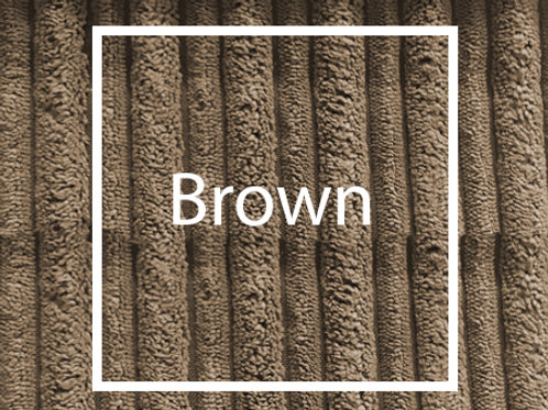 Brown Cord Fabric Sample