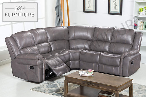 MICHAEL Recliner Corner Sofa - Faux Leather
