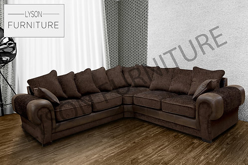 TREVOR NEW Corner Sofa I Sofa Set - Scatter Cushion - Fabric
