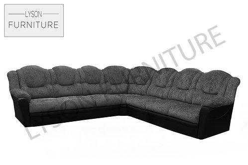 TOMAS Corner Sofa - Full Back - Fabric