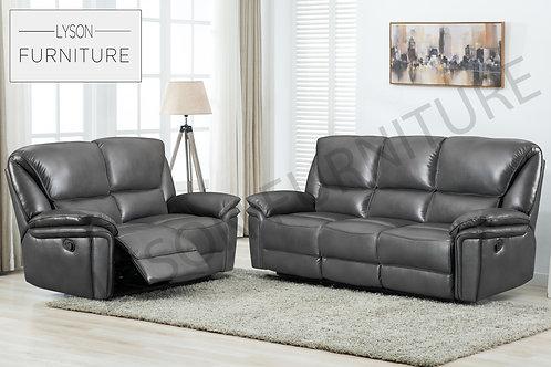 BERNARD Recliner 3+2 Sofa Set - Faux Leather