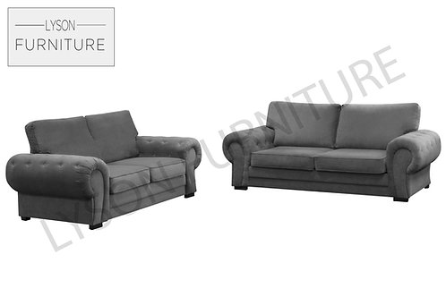 VICTORIA 3+2 Sofa Set - Full Back - Fabric