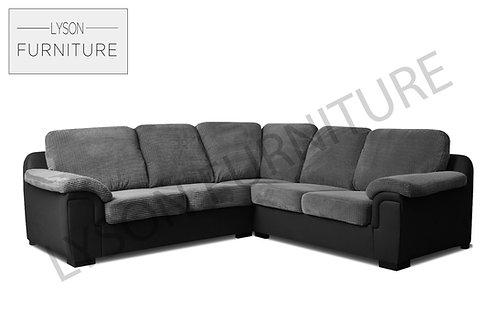 AMELIA Corner Sofa - Full Back - Fabric