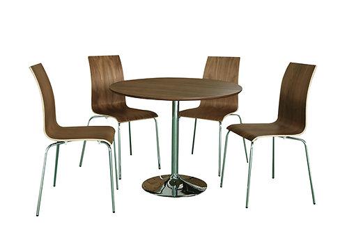 Soho Dining Set - Walnut