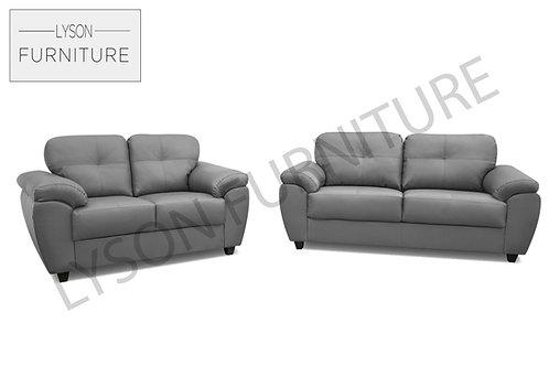 COLIN 3+2 Sofa Set - Full Back - Faux Leather