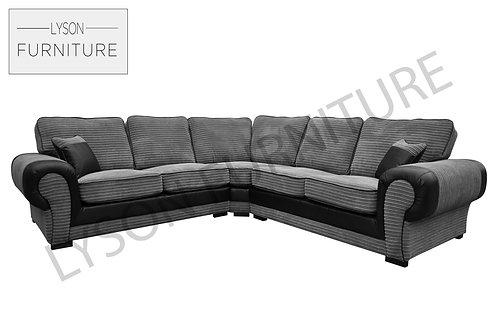 TREVOR Corner Sofa - Full Back - Fabric