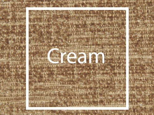 Cream Chenille Fabric Sample